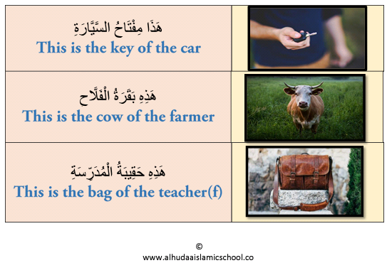 An Arabic demonstrative pronoun could be singly used as a subject